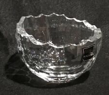 "Rogaska -  4"" Mini Crystal Bowl - 1665 Shang ri-La Made in Slovinia"