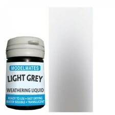 More details for modelmates light grey weathering liquid (18ml pot) 49200 - free postage
