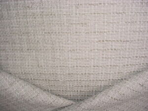 6-3/4Y GLANT 9652 COUTURE MELANGE PLATINUM LIMESTONE CHENILLE UPHOLSTERY FABRIC