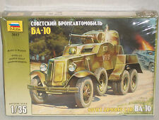Zvezda 1/35 Scale BA-10 Soviet Armored Car  -  Factory Sealed