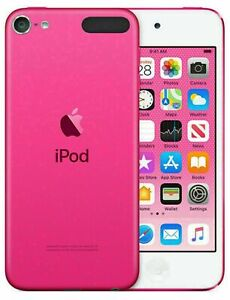 New Apple iPod touch (7th generation)-pink, 256GB, 1 year warranty
