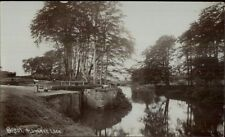 Aldwarke Lock - England? c1910 Real Photo Postcard