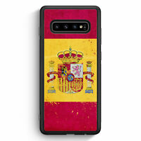 Spanien Grunge Espana Spain Samsung Galaxy S10 Silikon Hülle Motiv Design Cov...