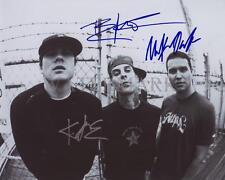 REPRINT - BLINK 182 Travis Barker Signed 8 x 10 Photo Poster RP