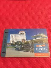Resorts Casino Hotel Key Card (Celebrating 40 Years) Atlantic City, Nj