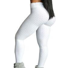Womens PUSH UP High Waist Yoga Leggings Fitness Sport Gym Jogging Pants Trousers