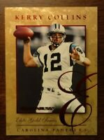 1997 Donruss KERRY COLLINS ELITE GOLD S/N SP NFL 12 of 20 Panthers Penn State