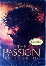 PASSION OF THE CHRIST - MEL GIBSON - FULL SCREEN - 2004 DVD - STILL SEALED