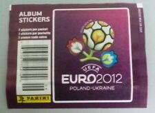PANINI EURO 2012 EM TÜTE TYP USA PACKET PACK BUSTINA POCHETTE SOBRE NUMBERED RAR
