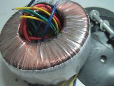 150w (150va) 110/220v TORO TRASFORMATORE PER Amp/Cuffie/DAC 24v-0-24v 9+9v