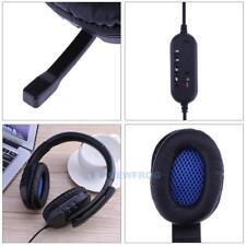 Wired USB Gaming Kopfhörer Headset Mit Mic für PS4, PS3 Sony Playstation 4