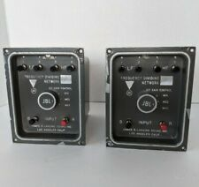 Pair of Vintage JBL 3120  Dividing Network Crossovers.
