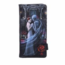 Nemesis Now Anne Stokes Forever Yours Skeleton Roses Gothic Wallet Purse B4862p9
