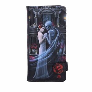 Nemesis Now Anne Stokes Forever Yours Squelette Roses Gothique Porte-Feuille