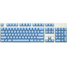 Max Keyboard ANSI 104-key Cherry MX Replacement Keycap Set 6.0x (Blue / Blank)
