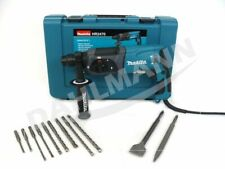 MAKITA Bohrhammer HR2470 SDS-Plus 780 Watt inkl. SDS-Plus Bohrer und Meißelset