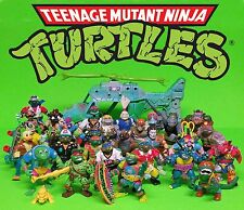 29 TMNT 1988 Teenage Mutant Ninja Turtles Copter Weapons Accessories Vehicle Lot