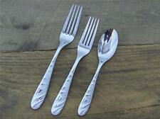 ONEIDA Cosmic pattern S.S. Replacement Spoon & Forks Mixed Flatware Lot