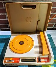 Fisher Price WORKING Vintage Record Player...Worksing..see description!