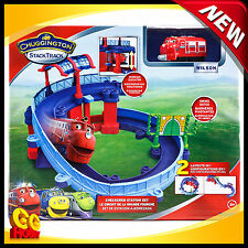 Tomy Chuggington Train StackTrack Checker Station Set with Wilson BRAND NEW