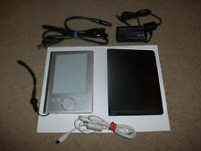 """Sony PRS-300 Pocket ed 5"""" E-Book Reader bundled w/case,usb cable & power adapter"""