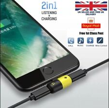 2 in 1 Lightning Adapter Splitter Dual Headphone Audio & Charger iPhone 11 Xr 8