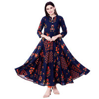 Indian Dress Cotton Retro Ehs Hippy Women Blusa Vintage Retro Vestir Boho Ethnic