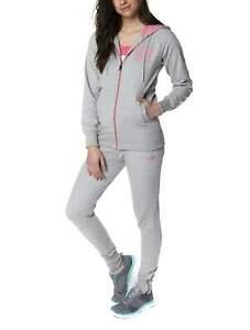 Skechers Womens Grey Marl Zola Zip Hoodie Hoody [SK46325WB]