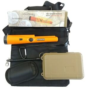 Special Offer GP Metal Detector Pro Pinpointer W/ Finds Carry Bag and Find Box