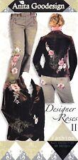 Anita Goodesign Designer Roses 2 Embroidery Machine Design CD NEW 78AGHD