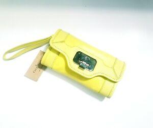 Cole Haan Vintage Valise II Isabelle Leather Clutch Wristlet