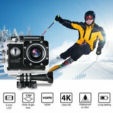Pro Action Camera 4K WiFi Camcorder Waterproof DV Sports Cam Go Underwater KIT