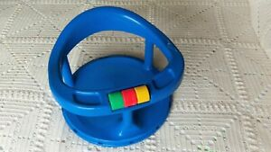 PARTS ONLY Vtg 1989 Safety First Baby Bath Seat-Suction Cup OR 3 cute Spin Beads