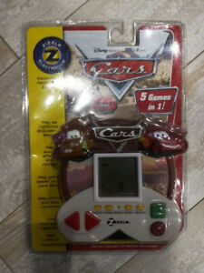 New Cars Electronic Hand Held Game 5 Games In 1