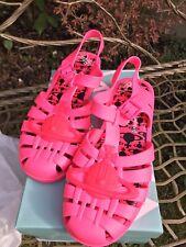 Melissa/Vivienne Westwood Pink Jelly Shoes 9UK/43EU