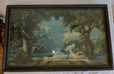 "Large Fox Urgelles Print Love's Paradise 1925 by Borin of Chicago 30"" x 18"""
