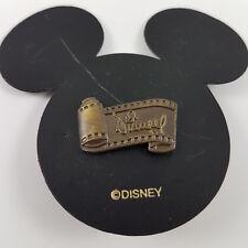 NEW Disney Logo Film Strip Pin Bronze Mickey Head Card Pre Trading