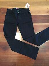 Girls ROXY TEEN Black Denim Jeans Size 14 BNWT