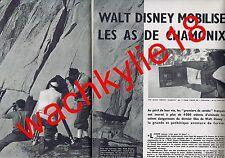 Paris Match n°503 du 29/11/1958 Tyrone Power Cervin Rebuffat Disney