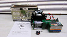 Chicago Electric Power Tools 95912 12V +Wireless Remote Control Winch 3000lb 32'