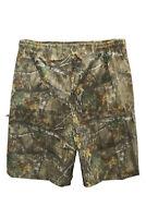 Men's Kingsize Jungle Combat Cargo  Shorts Forest Realtree Camouflage 3XL-6XL