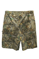 Premium Men's Kingsize Jungle Cargo Shorts Forest Realtree Camouflage 3XL-6XL