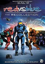 Red vs. Blue The Recollection Collection Season 6-8 DVD Set Halo RvB Series Show