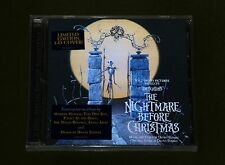 NIGHTMARE BEFORE CHRISTMAS OST TIM BURTON DANNY ELFMAN 2x CD *LTD* 3D COVER New