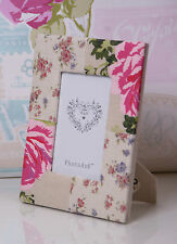 Vintage Photo Frame fabric Material Flowers printed New Lovely Mothers Day