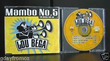 Lou Bega - Mambo No.5 4 Track CD Single