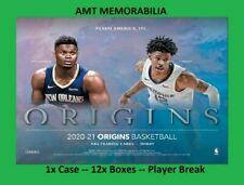 Anthony Edwards 2020/21 20/21 Panini Origins 1X CASE 12X BOX BREAK #3