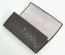 NEW GENUINE Gucci Brown Sunglasses/Eyeglasses S/M Size Hard case +cloth +papers