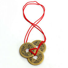 1 Set Of 3 Chinese Feng Shui Coins For Wealth And Success Good Luck Gifts Hot