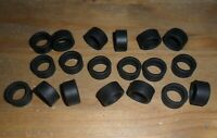 Scalextric 20 new grippy slick car GT rear tyres / tires 'Start' Veyron TVR etc